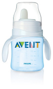 Philips Avent SCF626/01 BPA Free Classic Bottle to First Cup Trainer, Blue, 120ml