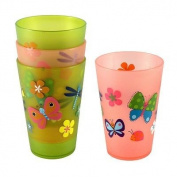 Jumping Beans® 4-pc. Children's Butterfly Cup Set