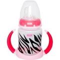Nuk Learner Cup 150ml ZEBRA Design Girl Pink Black White 6+ Months