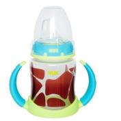 Nuk Learner Cup 150ml Giraffe Design Neutral Greens Browns 6+ Months