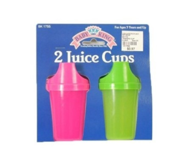 Baby King 2-Pack Sippy Cups