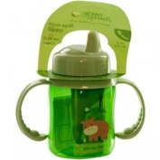 Green Sprouts, Non-Spill, Stage 2-4, 3-24 Months, 6 oz (177 ml) Green Cup