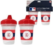 Boston Red Sox Spill-Proof Sippy Cups 2 Pack BPA Free