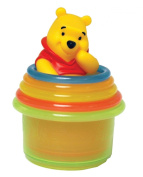 Learning Curve Disney Pooh Stacking Cups