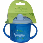 Green Sprouts, Sippy Cup, Blue, 6.5 oz