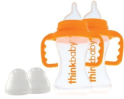 thinkbaby BPA Free Sippy Cup, 270ml, 2 pack