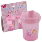 2pc 130ml Plastic My Little Princess Sipper CUP