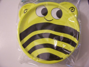 Animal Friends Bee Plastic Travel Bowl with Lid