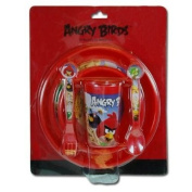 Angry Birds 5pc Feeding Set in Clamshell Card