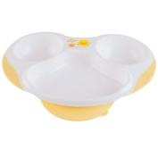 Piyo Piyo Slip Proof 3 Section Dining Plate