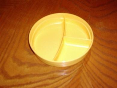 Kitchenware Divided Dish Yellow