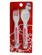Pink Hello Kitty Spoon and Fork Set - Hello Kitty Flatware