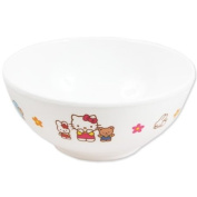 [Hello Kitty] melamine tea bowl TM Hello Kitty children's tableware series