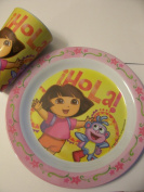 Dora the Explorer Melamine Plate & Cup by KCARE