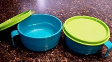 Kitchenware Baby FEEDING BOWL SET Microwave RARE