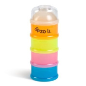 Zo-Li On-The-Go Travel Formula & Snack Dispenser