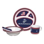 NCAA U.S. Marine Corps Kids Dish Set