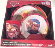 Disney Pixar Cars 3 Piece Mealtime Set