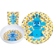 Blue Monster Dish Set