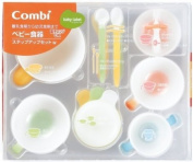 Combi Baby Labal feeding step up set