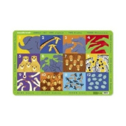 Crocodile Creek Placemat - Jungle 123