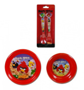 Angry Birds Plastic Plate, Bowl, Spoon & Fork Party Set