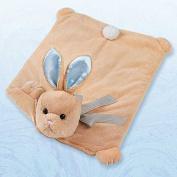 Bearington Bears Baby Boy Bunny Tails Plush Belly Play Mat
