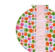 Itzy Ritzy TTM8084 Wrap & Roll Infant Carrier Arm Pad & Tummy Time Mat - Hoot