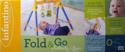 Infantino Fold & Go Activity Baby Infant Gym Interactive Music & Lights