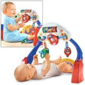 Fisher-Price Brilliant Basics Kick & Drive Gym