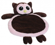 Bestever Pink Owl Baby Mat