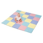 Pastel Patchwork Crawly Mat CF 321-132P Children's Factory
