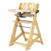 Keekaroo Height Right High Chair with Tray, Natural *BONUS ITEMS*