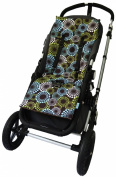 Tivoli Couture NuComfort Memory Foam Stroller Pad and Seat Liner - Celebrate