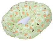 Leachco Podster Lounger Pillow Replacement Cover - Green Bears