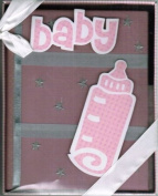 Pink Baby Girl Photo Album