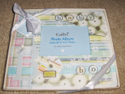 "Cudlie! Baby ""It's a Boy"" Photo Album Memories Holds 80 ~ 10.2cm x15.2cm Photos"