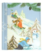 Dolce Mia Skiing Kids Sew Vintage Brag Book - 40 4x6 Photos
