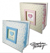 Baby Photo Album and Scrapbook by Stephan Baby - Pink