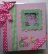 Little Cutie Pink baby photo album