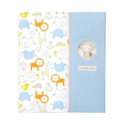 Carter's Loose Leaf Keepsake Memory Book of Baby's First 5 Years, Monkey Pals