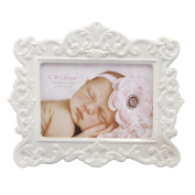 C.R. Gibson Ceramic Photo Frame, Bella Multi-Coloured