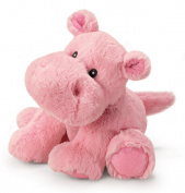 Russ Berrie Noah's Friends 27.9cm Small Pink Happy Hippo