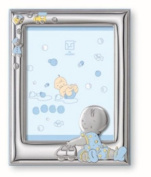 Silver Touch USA Sterling Silver Picture Frame, For A Boy