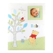"""Disney Winnie the Pooh First 5 Years Keepsake Baby Memory Book """"Tweet Tweet Baby"""""""