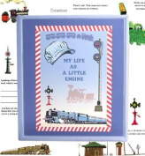 Dolce Mia Trains Baby Memory Book