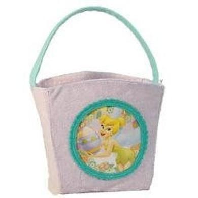 Disney Fairies Plush Easter Basket - Tinker Bell with Easter Egg