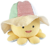 Baby Aspen Sunhat and Plush Octopus Gift Set, Little Wader and Sun Shader