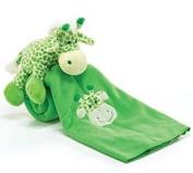 Cuddly Geoffery The Giraffe Plush Baby Blanket
