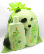 """The Triplet"" - Unisex Three Piece Organic Gift Set for Baby by Organically Grown"